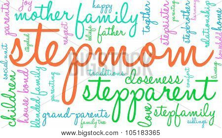 Stepmom Word Cloud