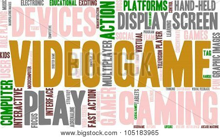 Video Game Word Cloud
