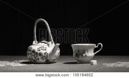 Tea-pot And Teacup