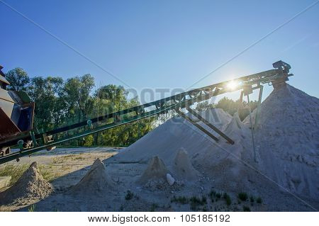 Industrial Gravel Quarry