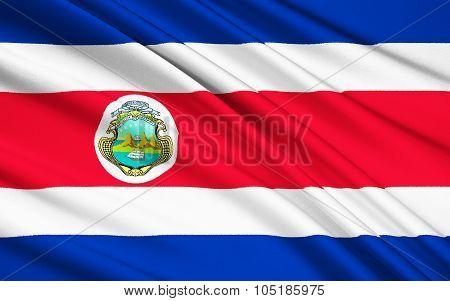 Flag Of Costa Rica, San Jose