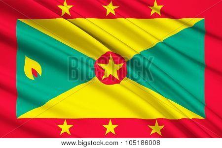 Flag Of Grenada, Saint George's