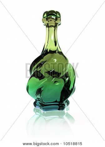Twisted Potion Bottle