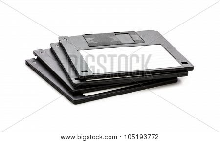 Floppy Disks isolated on white background