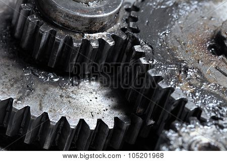 Mechanical Transmission Of Rotation By Means Of Gears