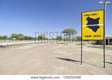 Equator Crossing In Kenya