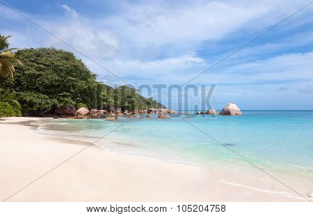Tropical beach Anse Lazio, Seychelles