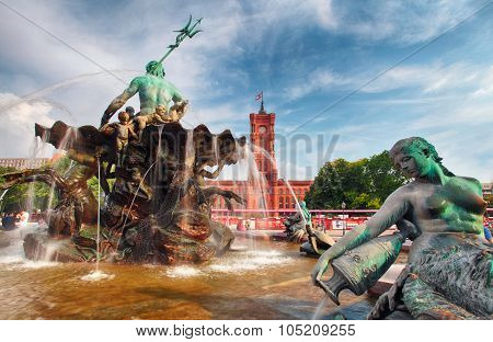 Alexanderplatz Sculpture Detail, Berlin - Germany
