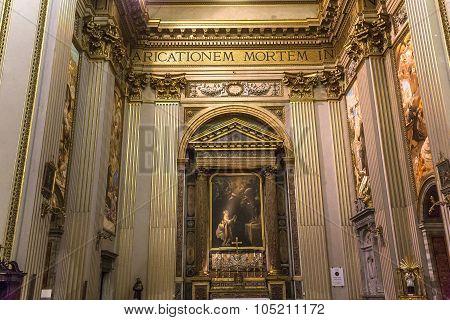 Sant Andrea Della Valle Basilica, Rome, Italy