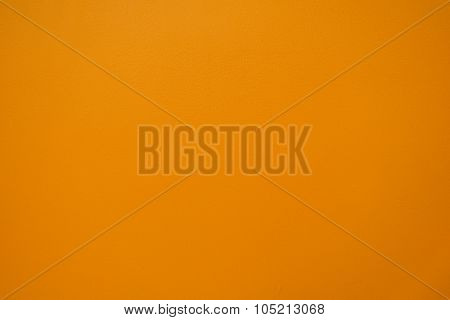 Horizontal Texture Of Orange Stucco Wall Background