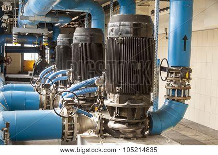 Blue Pump