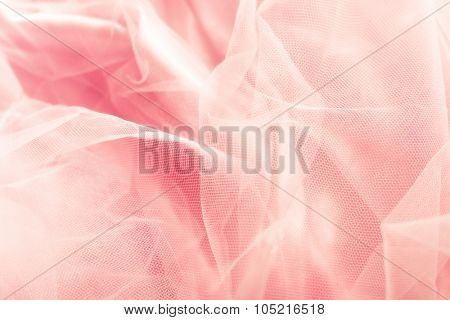 beautiful pink tulle background