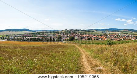 Panoramic View Of Spisske Podhradie Town, Slovakia