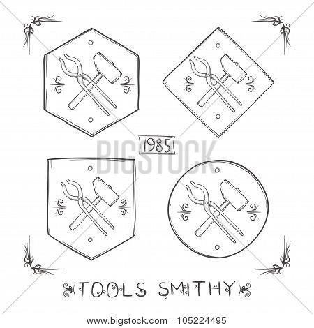 Set Blacksmith Labels