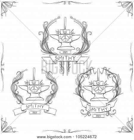 Smithy Vintage Logos