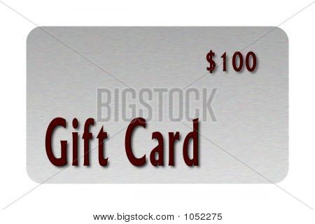 Silver Gift Card 1