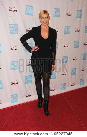 LOS ANGELES - OCT 16:  Jaime Pressly at the 44th Annual Peace Over Violence Humanitarian Awards at the Dorothy Chandler Pavilion on October 16, 2015 in Los Angeles, CA