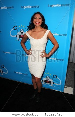 LOS ANGELES - OCT 15:  Pisay Pao at the 2015 Geekie Awards at the Club Nokia on October 15, 2015 in Los Angeles, CA