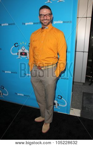 LOS ANGELES - OCT 15:  Keith Allan at the 2015 Geekie Awards at the Club Nokia on October 15, 2015 in Los Angeles, CA