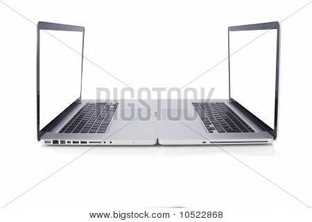 Two Aluminium Design Laptops