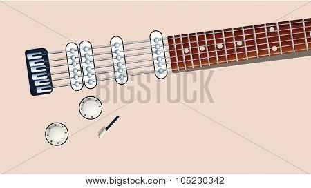 guitar back electro