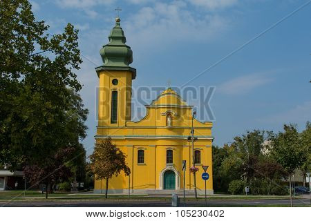 Chatolic Church In Ajka, Hungary