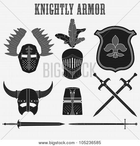 knightly armor