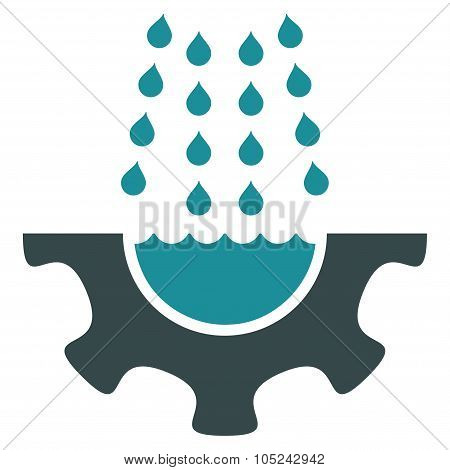 Water Service Flat Icon