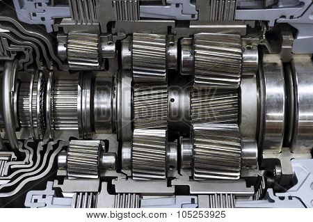 Gearbox of cargo vehicle