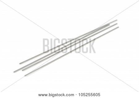Mechanical Pencil Lead Refills Isolated On White Background