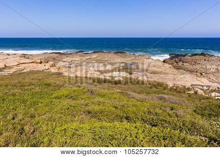 Rocky Ocean Coastline