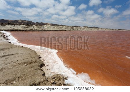 Salt Mineral Mining In Namibia