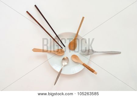 Sharing Concept - Wooden Spoon