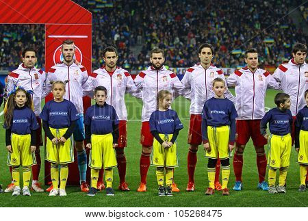 National Football Team Of Spain