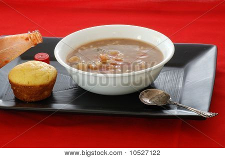Shrimp Gumbo And Cornbread