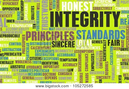 Integrity in a Company and Person Character