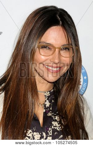 LOS ANGELES - OCT 17:  Vanessa Marcil at the  LAPD Eagle & Badge Foundation Gala at the Century Plaza Hotel on October 17, 2015 in Century City, CA