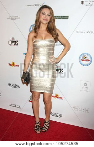 LOS ANGELES - OCT 17:  Chrishell Stause at the  LAPD Eagle & Badge Foundation Gala at the Century Plaza Hotel on October 17, 2015 in Century City, CA