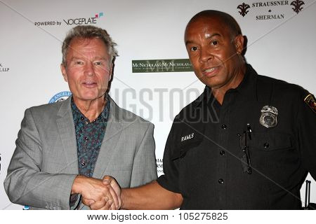 LOS ANGELES - OCT 17:  John Savage, Officer Rawls at the  LAPD Eagle & Badge Foundation Gala at the Century Plaza Hotel on October 17, 2015 in Century City, CA