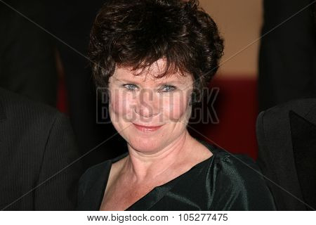 CANNES, FRANCE - MAY 16: Imelda Staunton attends the Taking Woodstock Premiere held at the Palais Des Festivals during the 62nd International Cannes Film Festival on May 16, 2009 in Cannes, France