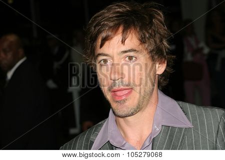 DEAUVILLE, FRANCE - SEPTEMBER 04: Robert Downey Jr. arrives for the Premiere of Kiss Kiss, Bang Bang at the 31st Deauville Festival Of American Film on September 4, 2005 in Deauville, France