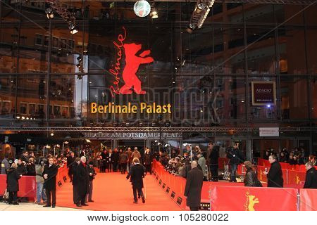 BERLIN - FEBRUARY 14:  Berlinale Palast, the main venue at the 60th Berlinale International Film Festival, on February 14, 2010 in Berlin, Germany. The 60th Berlinale will run from February 11-21.