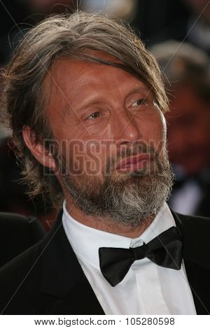 CANNES, FRANCE - MAY 24: Actor Mads Mikkelsen attends the 'Coco Chanel & Igor Stravinsky' Premiere at the Palais De Festivals during the 62nd  Cannes Film Festival on May 24, 2009 in Cannes, France