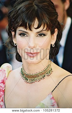 CANNES, FRANCE - MAY 24: Sandra Bullock attends the 'Murder by numbers' Premiere at the Grand Theatre Lumiere during the 55th Cannes film festival on May 24, 2002 in Cannes, France
