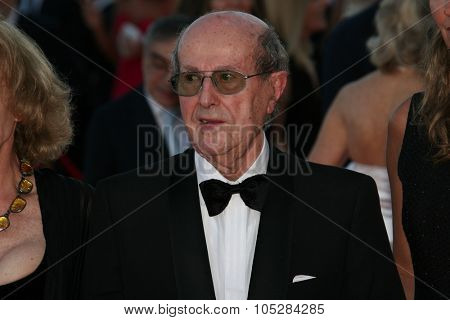 VENICE, ITALY - AUGUST 27:  Manoel de Oliveira  arrives at the opening ceremony and 'Burn After Reading' Premiere during the 65 Venice Film Festival at Sala Grande on August 27, 2008 in Venice, Italy.