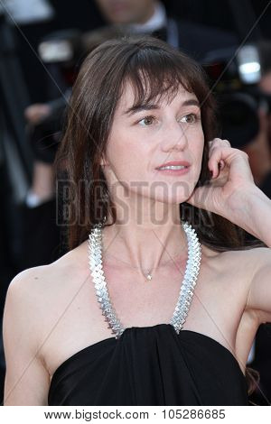 CANNES, FRANCE - MAY 23: Charlotte Gainsbourg  attends the Palme d'Or Closing Ceremony held at the Palais des Festivals during the 63rd  Cannes Film Festival on May 23, 2010 in Cannes, France