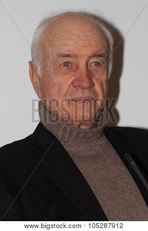 BERLIN, GERMANY - FEBRUARY 17: German actor Armin Mueller-Stahl attends Honorary Golden Bear Photocall the during  of the 61 Berlin  Festival at the Kinemathek on February 17, 2011 in Berlin, Germany