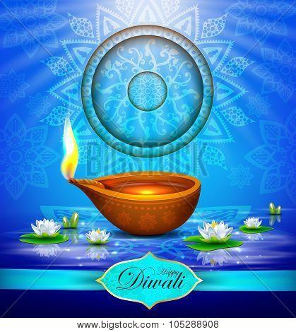 Diwali Holiday greeting card.