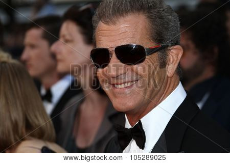 CANNES, FRANCE - MAY 17:  Mel Gibson  attend 'The Beaver' Premiere during the 64th Cannes Film Festival at Palais des Festivals on May 17, 2011 in Cannes, France.