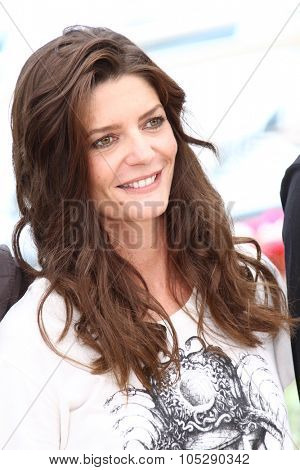 CANNES, FRANCE - MAY 21: Chiara Mastroianni attends the 'Les Bien-Aimes' Photocall at Palais  during the 64 Cannes  Festival on May 21, 2011 in Cannes, France